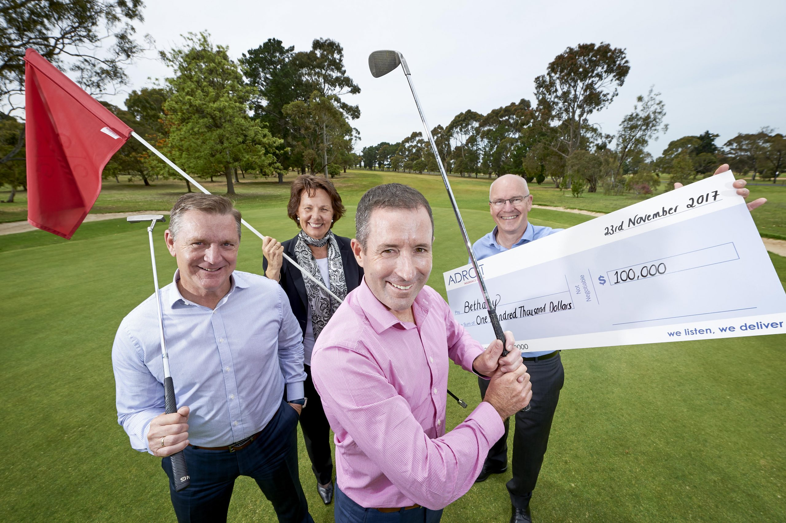 Adroit golf day promo